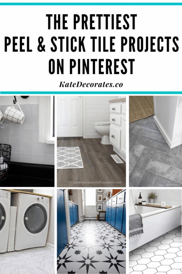 the best peel and stick vinyl tile