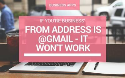 "DMARC: Gmail Accounts Can No Longer Be Used as ""Sender Addresses"" with Mailchimp"