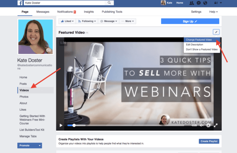 get more email subscribes from your facebook busines page