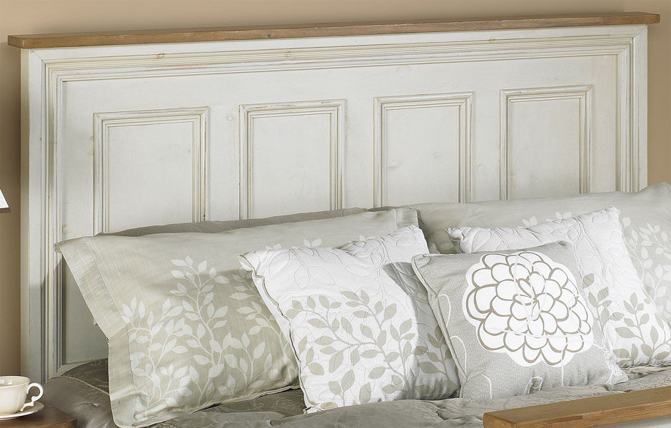 French Country Raised Panel Headboard French Country Bedroom Furniture Kate Madison Furniture