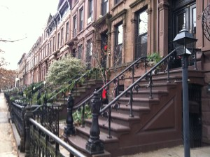 I always thought there was something kind of quaint and Victorian about Brooklyn during the holidays.
