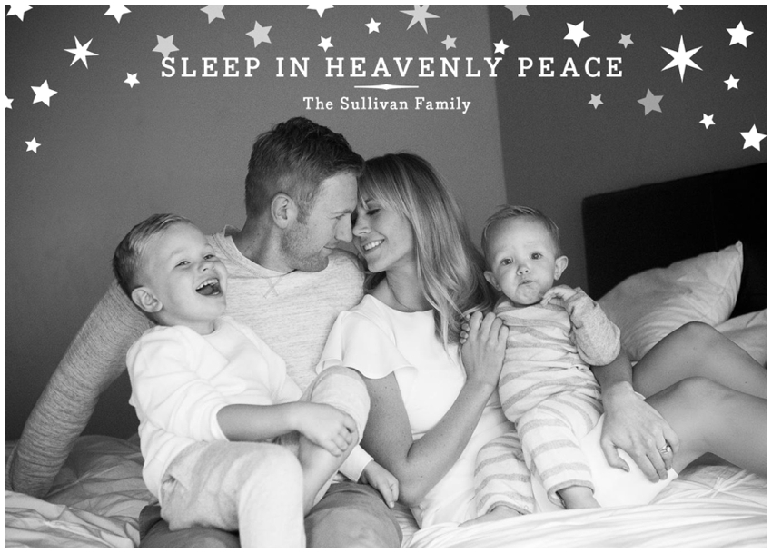 postales familiares navideñas