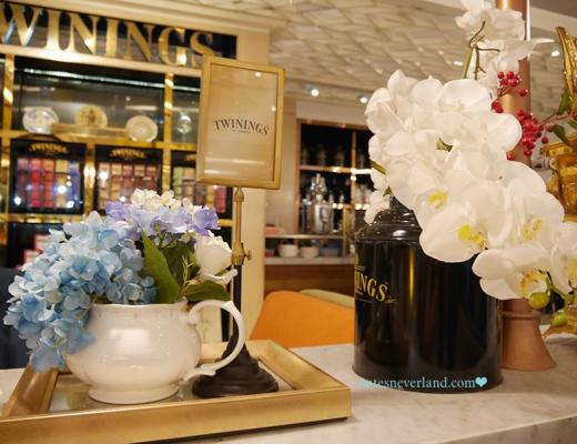 曼谷 Twinings Tea Boutique 唐寧 Central world