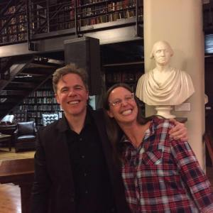 Josh Ritter was the first person to be featured by the Mercantile Library for their Words and Music Series.