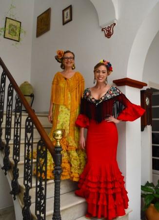 gypsy dress feria spain