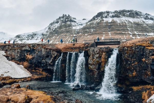 Iceland road trip Kirkjufellsfoss