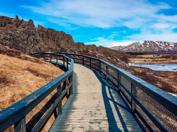 Þingvellir National Park road trip itinerary iceland