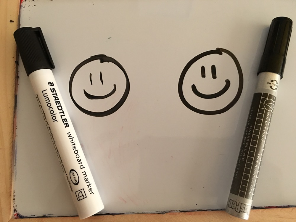 Whiteboard Markers That are Refillable, Recyclable and