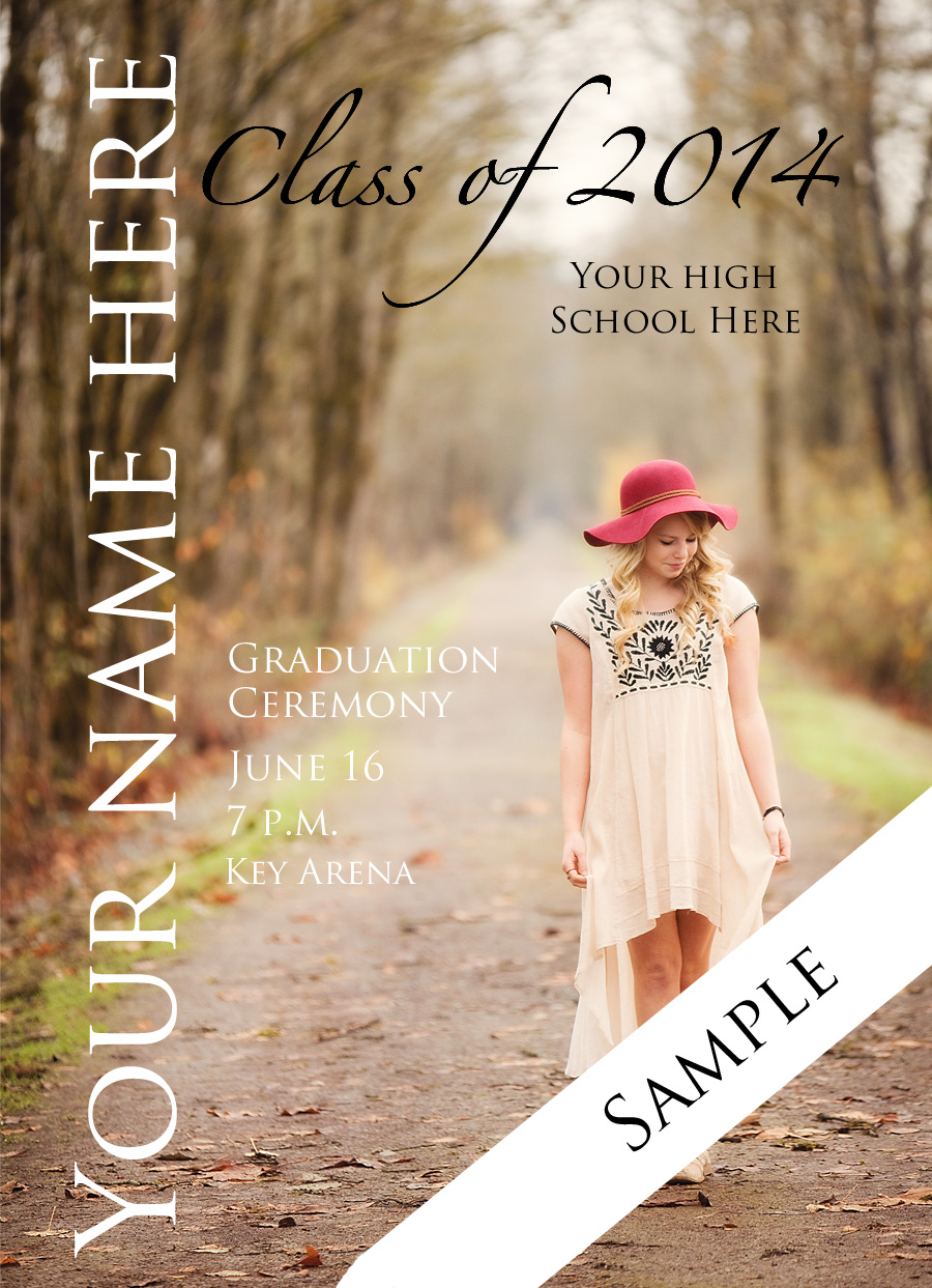 High School Graduation Announcement Cards