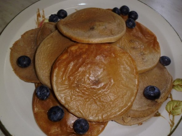 Buckwheat and Brown Rice Pancakes