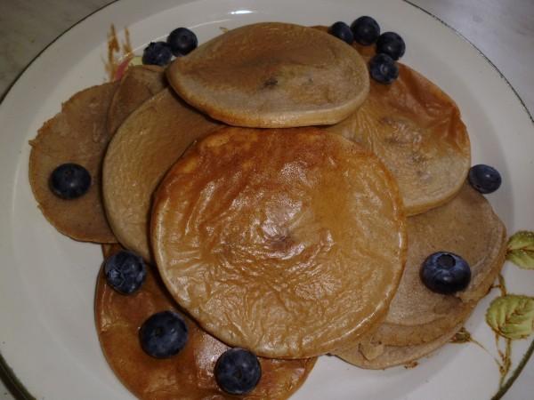 Buckwheat & Brown Rice Pancakes