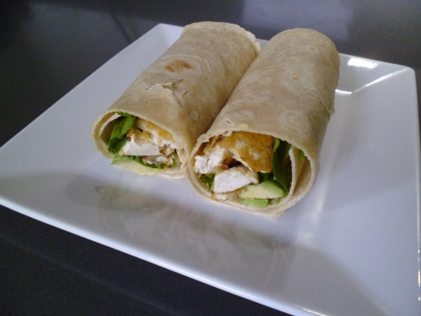 Vegan Chicken Wrap Recipe