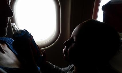 dziecko-samolot
