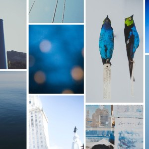 blues collage