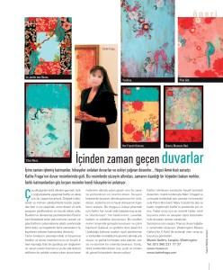 Kathe Fraga in Maison Francaise magazine