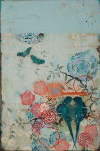 Garden Dreams, 36 x 24 inches, Roby King Gallery, Bainbridge Island, Washington
