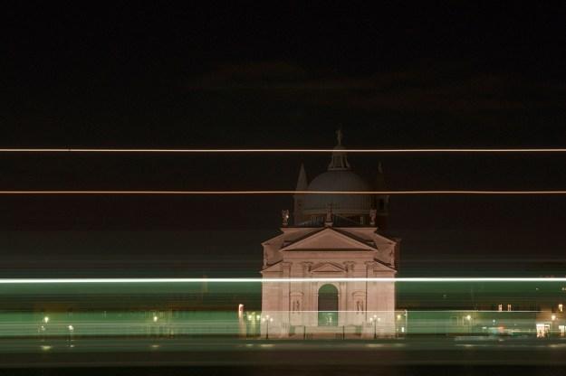 Claude Varieras - L'Eglise du Redempteur à la nuit.