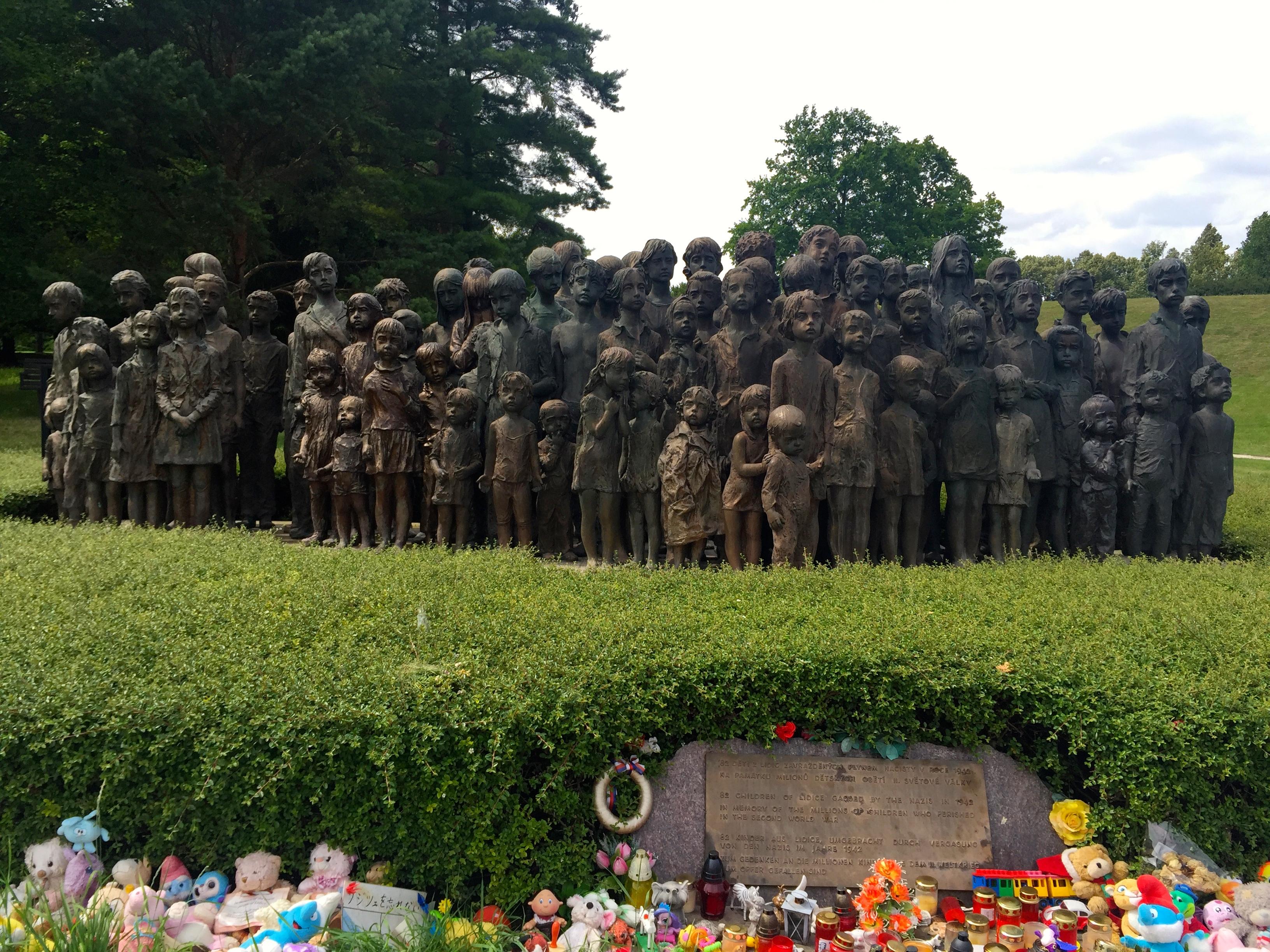 lidice-children-memorial-reinhard-heydrich-assassination