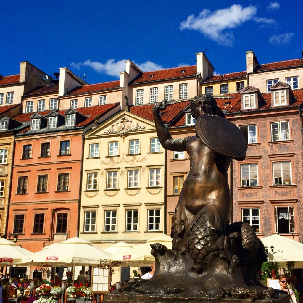 warsaw-attractions-old-town-market-place