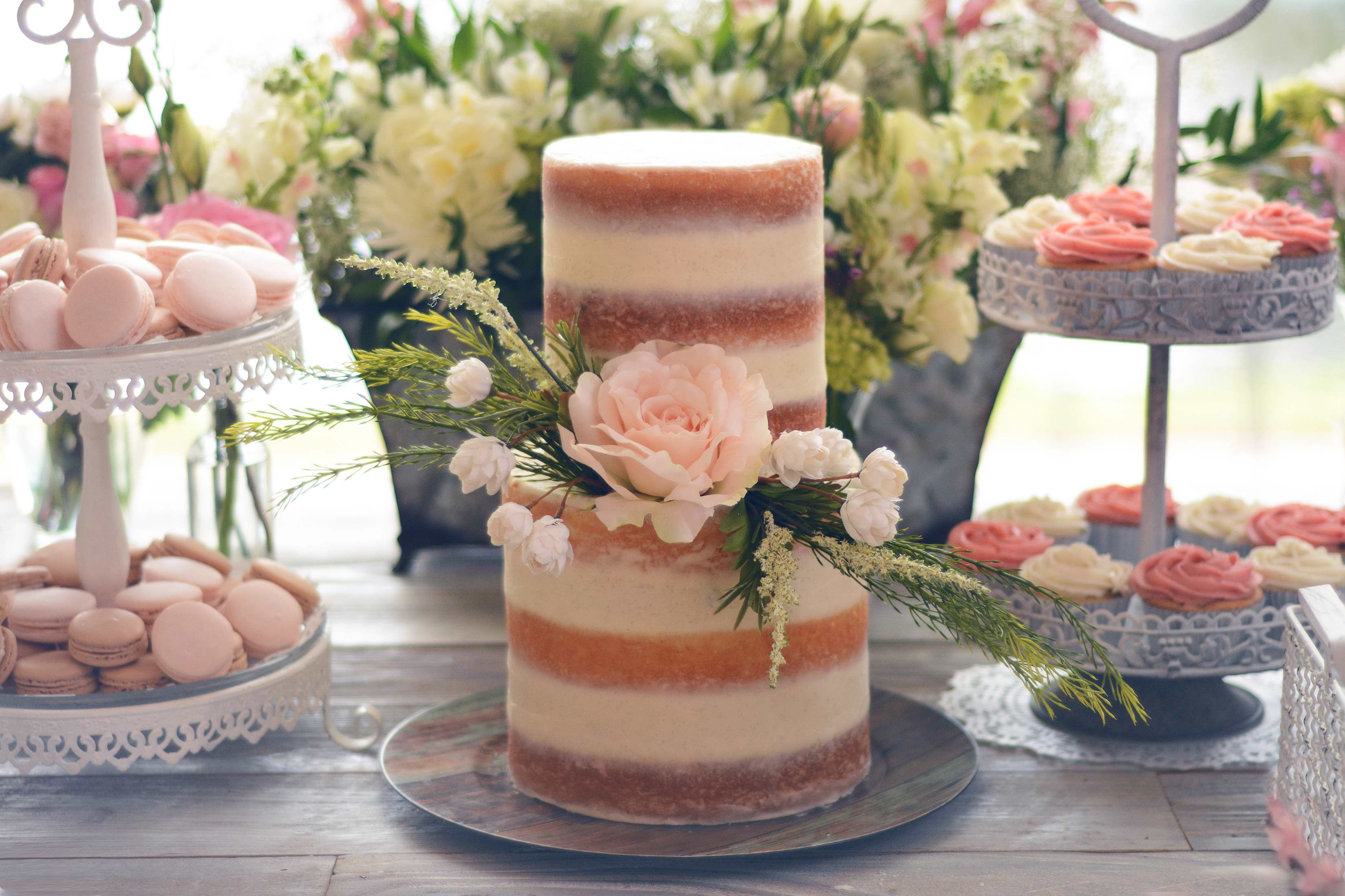 – 7 a Melissa Mae Etue Sweets french macaroons fruit food photographer katherine eastman miami Photography fine cooking baking pink rose Cake baby shower cupcakes_01
