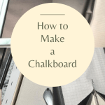 how to make a chalkboard pin