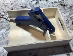 How to Make a Hot Glue Gun Holder