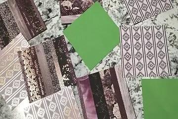 custom card accent paper