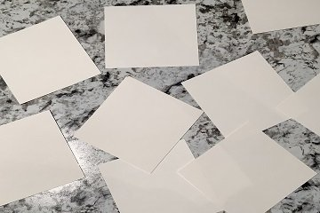 custom card design paper