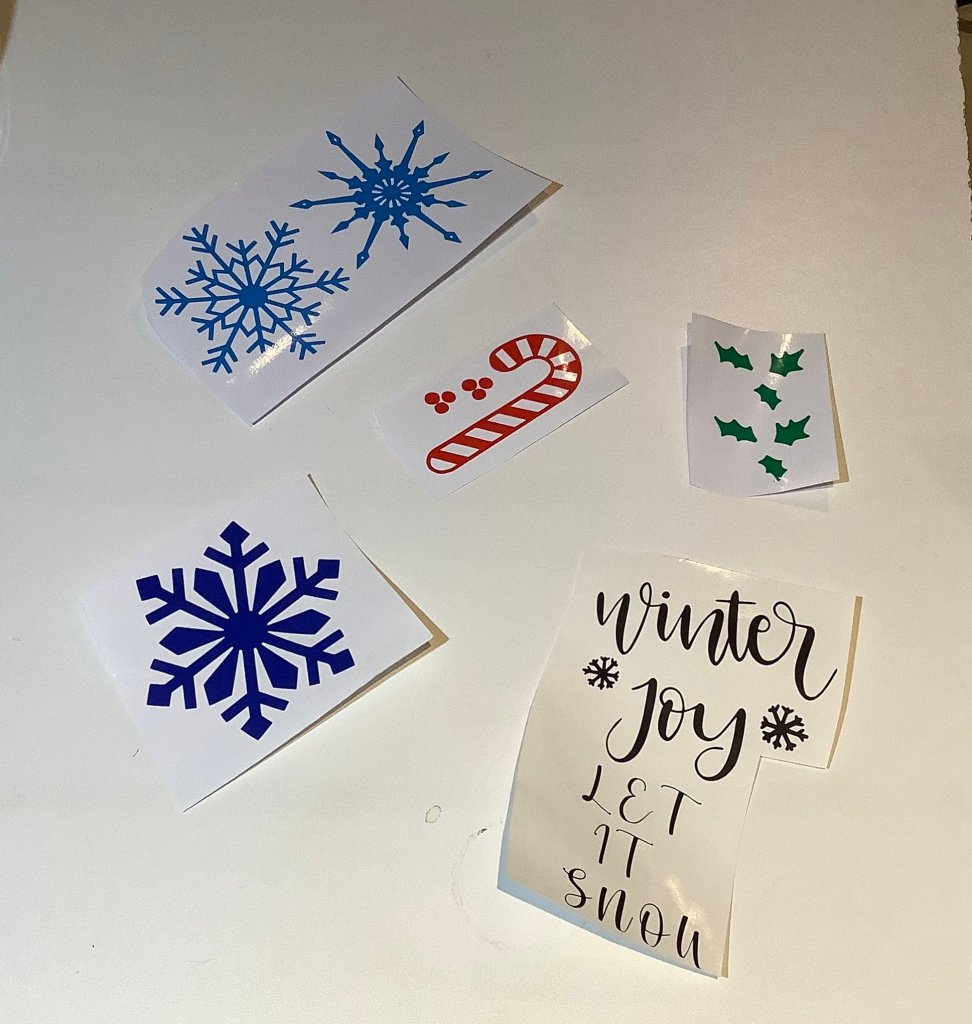 easy ornament decals