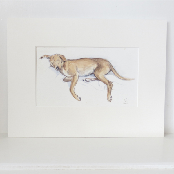lurcher paintings