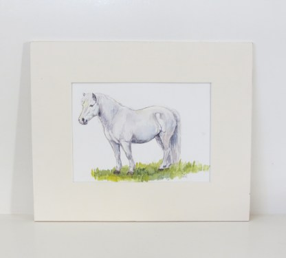 welsh pony painting