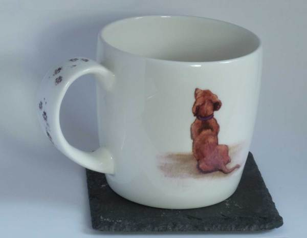 A Long Day daschund mug
