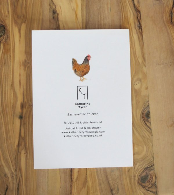 chicken greetings cards