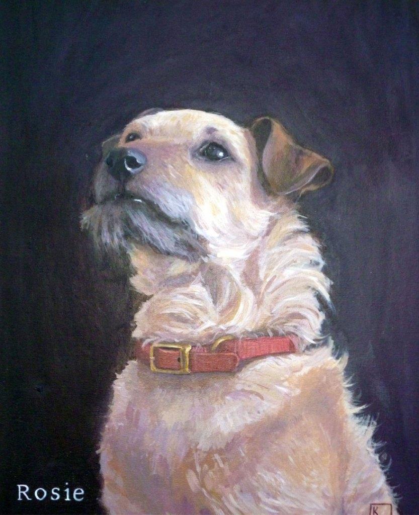 Terrier Painting