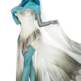 80004 Corpse Bride Komplettset MASK PARADISE