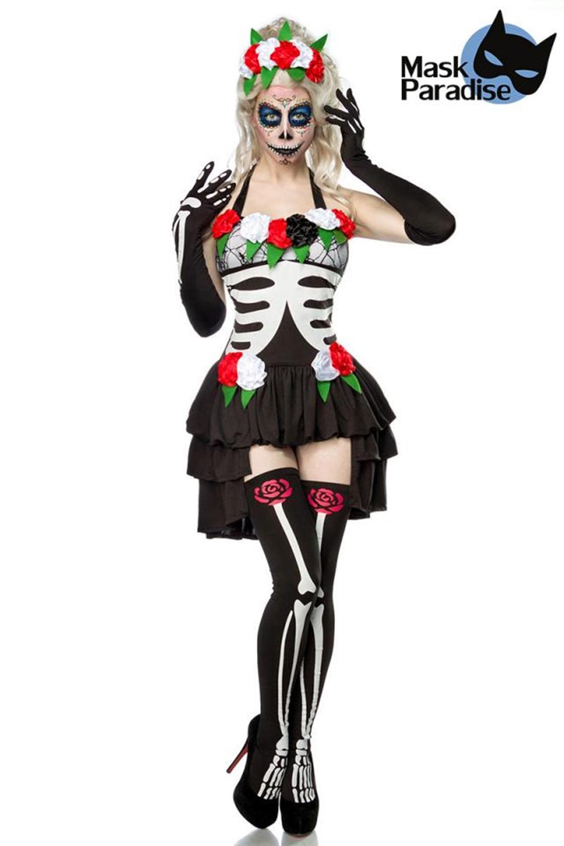 80007 Mexican Skeleton Komplettset MASK PARADISE