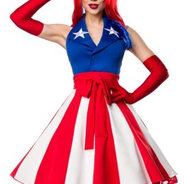 80057 Miss America Kostümset von Mask Paradise
