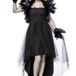 80064 Krähenkostüm Crow Witch von MASK PARADISE