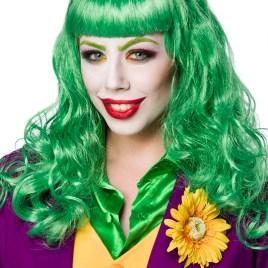80070 Lady Joker Perücke von MASK PARADISE