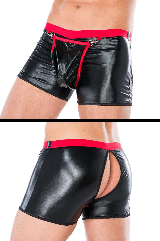 MC/9062 schwarze Boxershorts Andalea Dessous