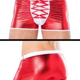 MC/9091 rot/weiße Boxershorts von Andalea Dessous