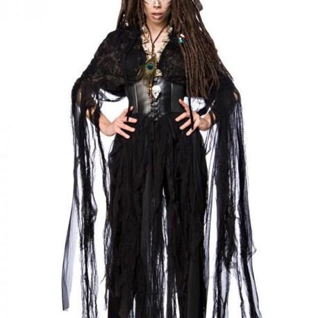 80106 Voodo-Hexenkostüm Vodoo Witch von MASK PARADISE EAN: 4251302115572