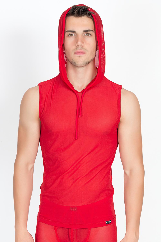 Rotes Herren T-Shirt Malibu von Look Me