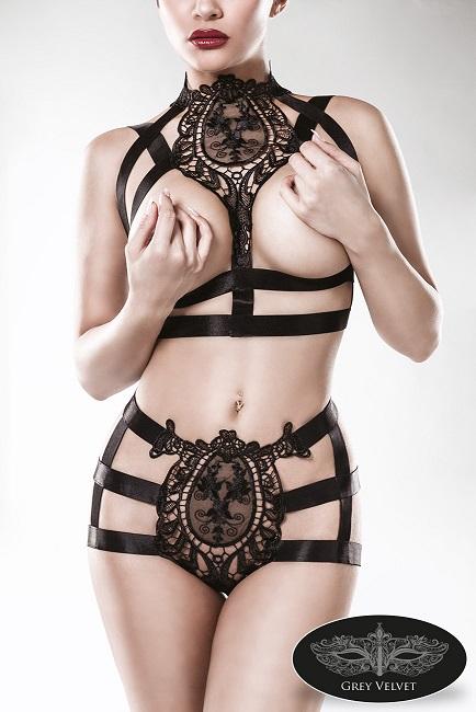 15125  2-teiliges Harness-Set von Grey Velvet EAN: 4251302129579