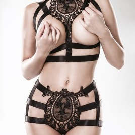 15125  2-teiliges Harness-Set von Grey Velvet