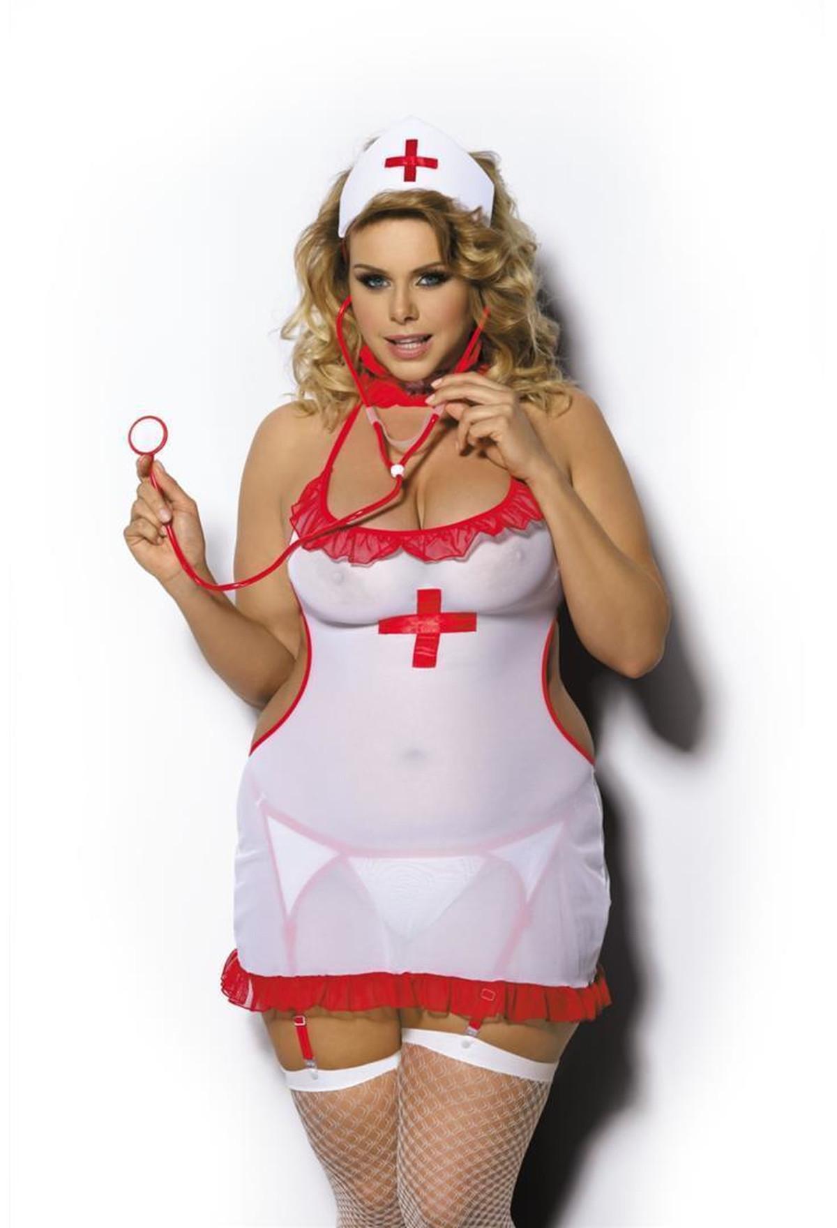 AS Shane Krankenschwester-Kostüm