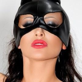 MK 02 schwarze Katzenmaske von MeSeduce