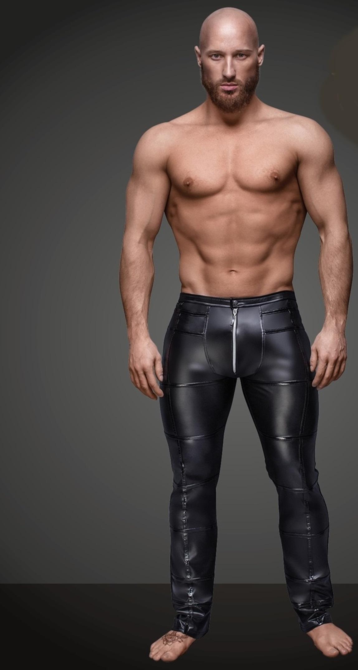 H021 Schwarze lange Hose von Noir Handmade