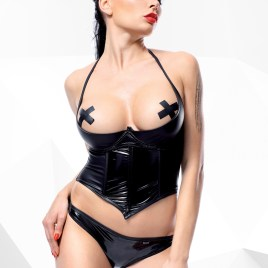 DE448 Schwarzes Set von Demoniq Hard Candy Collection