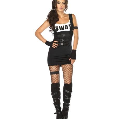 83850 Sultry Swat Officer Sexy Kostüm – Halloween und Karneval – 8385025001